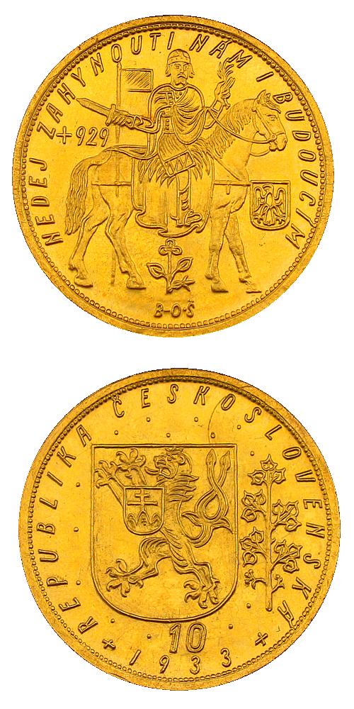 Svatovaclavsky_10_dukat_1933_Au_mince