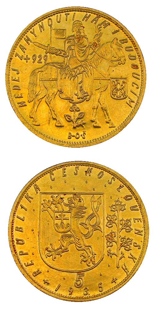 Svatovaclavsky_5_dukat_1935_Au_mince