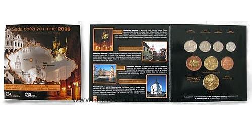 Sada oběžných mincí ČR 2006 Památky Unesco