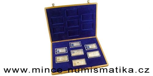 Soubor mincí s motivy slovenských bankovek