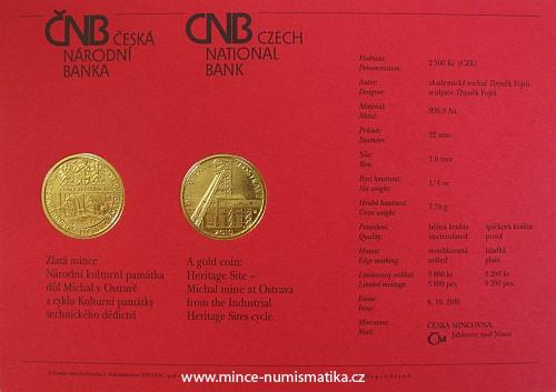 certifikat_2010_2500_Kc_Dul_Michal_v_Ostrave