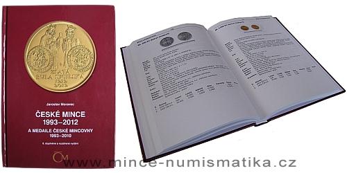 Katalog České mince 1993 - 2012 a medaile ČM 1993 - 2010