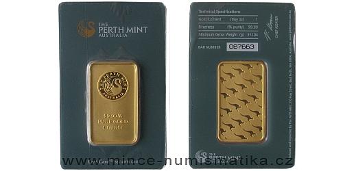 Zlatý slitek 1 Oz Kangaroo (Perth Mint)